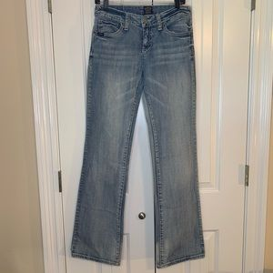 Cowgirl Up Boot Cut Mid rise Denim Jeans
